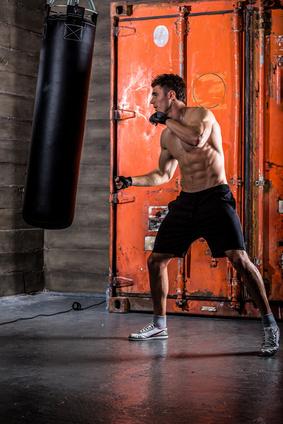 entrainement de boxe