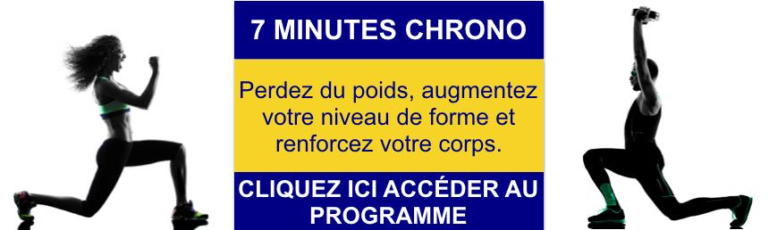 7 minutes Chrono